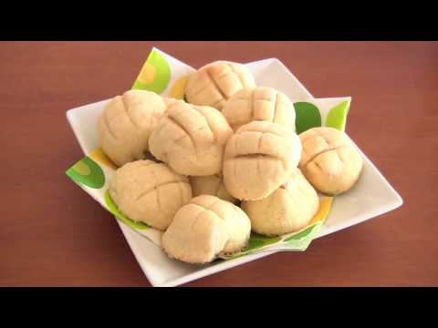 Kawaii Melonpan (Japanese Sweet Buns) | OCHIKERON | Create Eat Happy :)