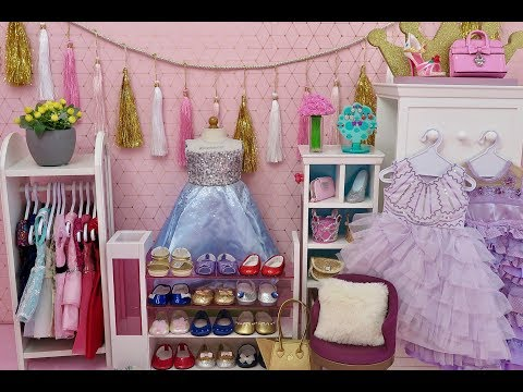 American Girl Doll Prom Room