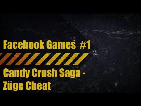 Facebook Games #1 Candy Crush Saga Züge Cheat 07.06.2013