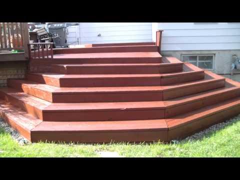 Redwood deck restoration - part1