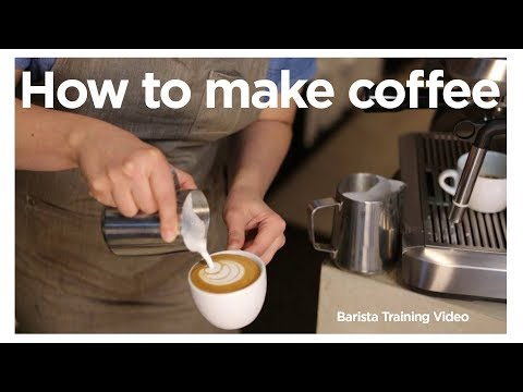 How to Make Coffee Australia Barista Training Video Barista Tips and Tricks