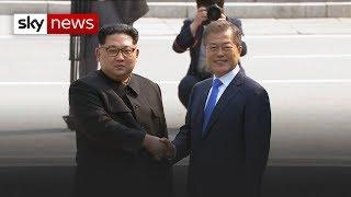 The Historic Handshake