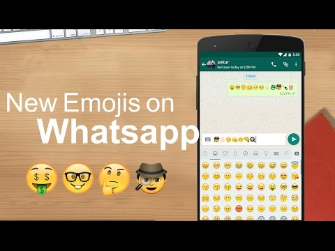 How To Get New Emojis on Whatsapp