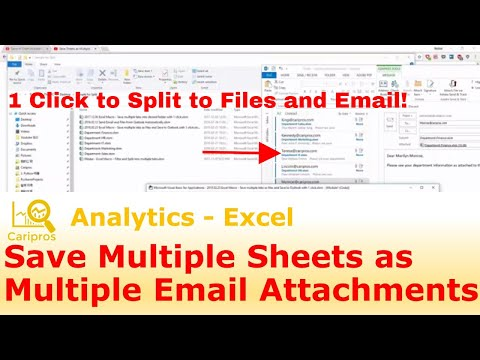 [Community Q&A] Save Multiple Sheets as Multiple Email Attachments with 1 Click