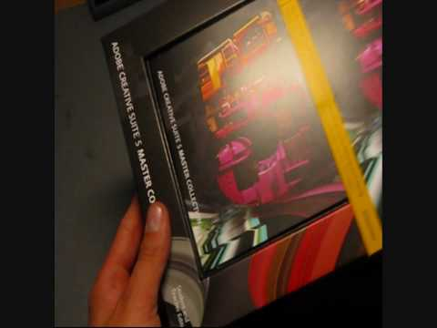 Unboxing: Adobe®  Creative Suite 5 Master Collection