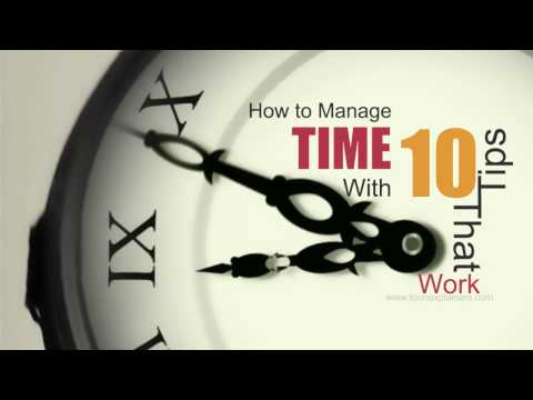 How to Manage Time With 10 Tips That Work - Entrepreneur