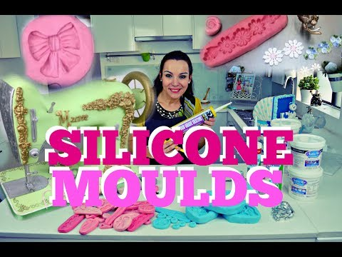 MAKING SILICONE MOULDS FOR FONDANT CAKE DECORATIONS | BY VERUSCA WALKER