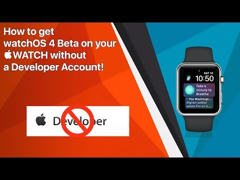 How to Install watchOS 4 Beta on your Apple Watch! (No Dev Account!)