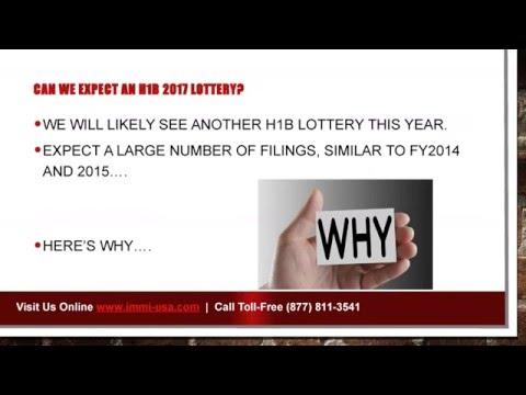 H1B Visa 2017 – Cap, News, Fees and Lottery Predictions
