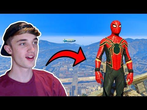GTA 5 SPIDERMAN INFINITY WAR! • (GTA 5 Funny Moments)
