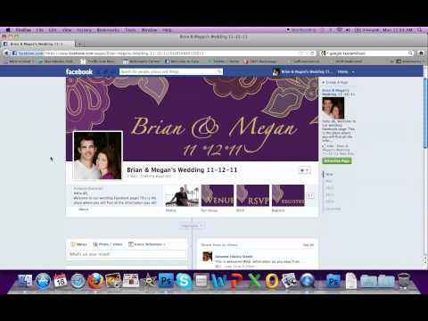 Getting Started- Creating A Wedding Facebook Page.mov