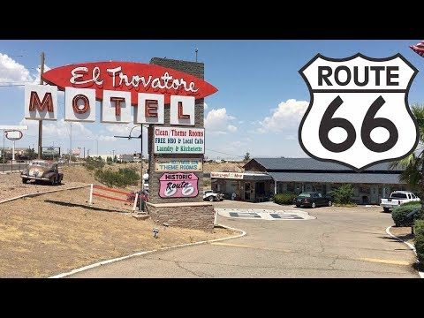 Route 66, Driving To Seligman 4K