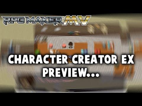 Character Creator EX Preview - RPG Maker MV