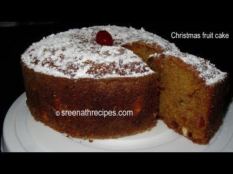 Fruit Cake - Pressure Cooker Cake - Cake Recipe