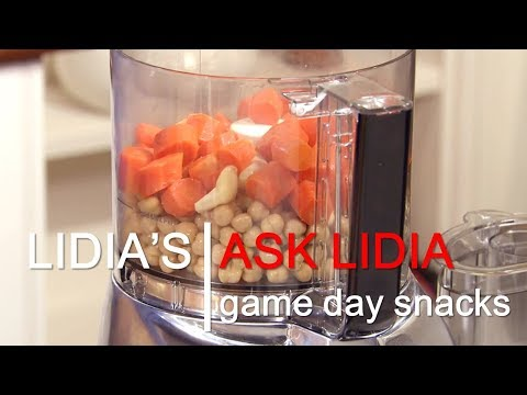 Ask Lidia: Game Day Appetizers