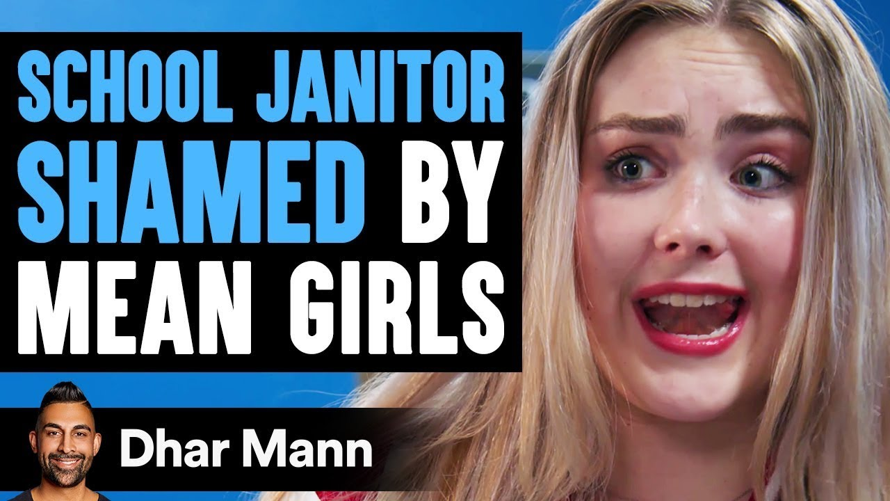 School Janitor Shamed By MEAN GIRLS ft. SSSniperWolf | Dhar Mann