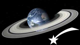 🌠La Terre aura-t-elle bientôt des anneaux !?