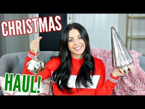 CHRISTMAS HOME DECOR HAUL! TARGET, HOMEGOODS, T.J.MAXX! 2017!