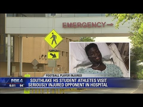 Arlington student continues to recover after football injury