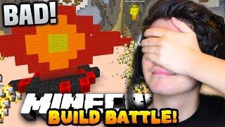 """Minecraft TEAM BUILD BATTLE #2 """"WE ARE THE WORST!!"""" w/PrestonPlayz & Choco"""