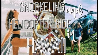 Helicopter Ride   Snorkeling In Hawaii