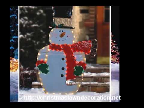 Outdoor Christmas Lawn Decorations