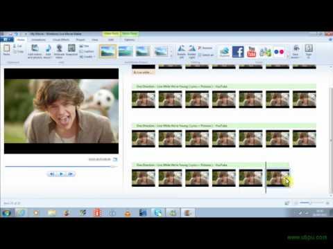 How to make a lyric video windows 7 movie maker!