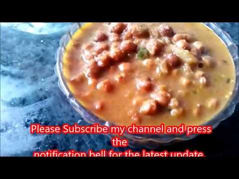 Kala Chana Curry Recipe-Black Chickpeas Curry-Easy and Quick Kaale Chole