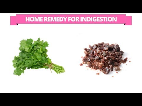 How to get rid of  indigestion using coriander