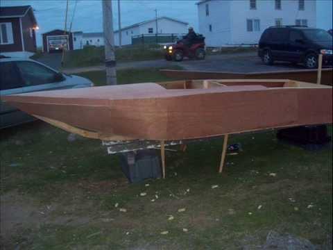 1950`s skeeto ski boat style build