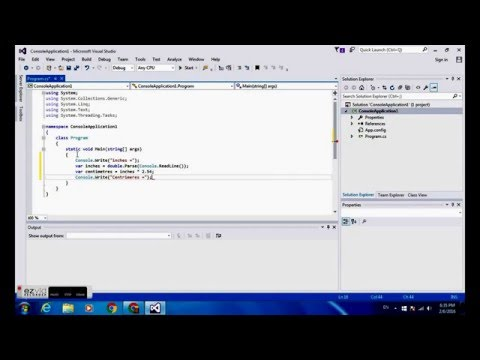 How to make a converter code from inches to centimeters