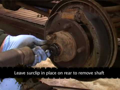 Defender wheel bearings- How to remove and check