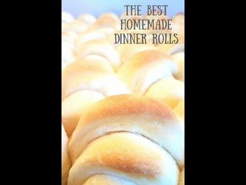 The Best Homemade Dinner Rolls