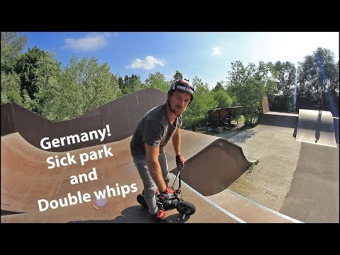 Max Rider in Germany: Sick park and double whips!