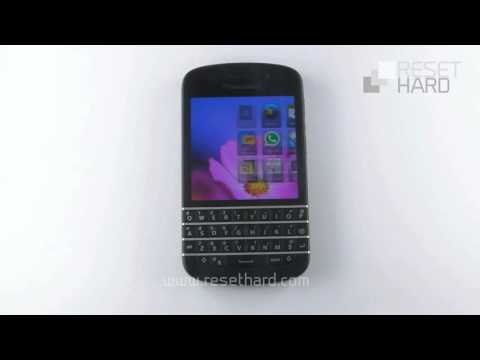 Blackberry Q10 Factory Reset
