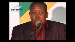 Julius Malema praises Mbalula