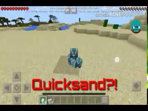MCPE | How to make Quicksand