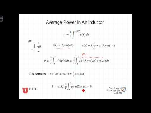 L10 1 3Average Power in Inductors and Capacitors