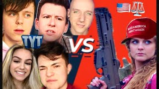 Kaitlin Bennett Threatens to SUE ME, Sam Collins, ImAllexx, Philip DeFranco, The Young Turks & Roly