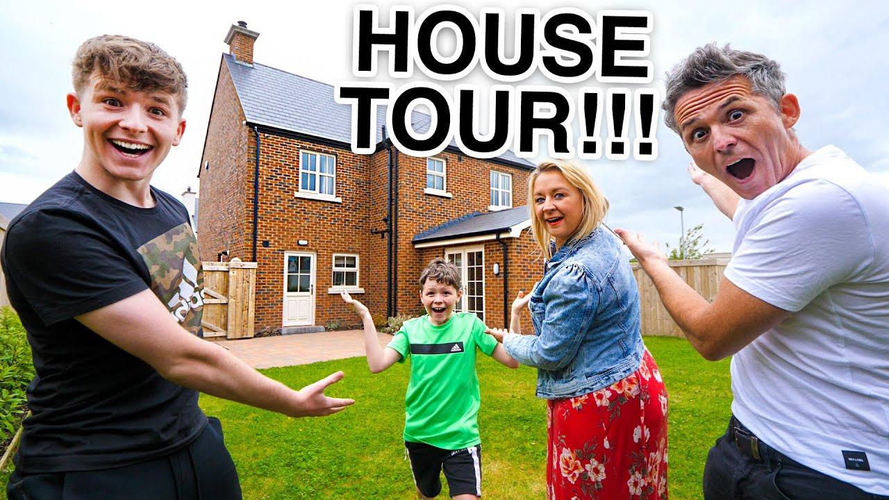 OUR NEW HOUSE TOUR!! FAMILY 4 HOUSE TOUR