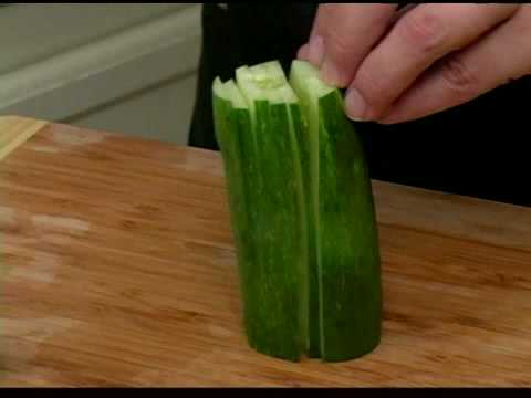 Cooking Tips : How to Julienne Cucumbers