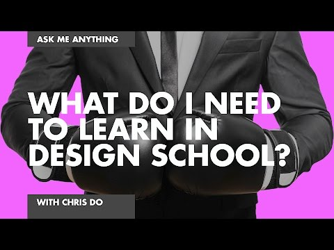 What Do I Need to Learn In Design School?