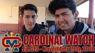 Cardinal Watch: ep. 113 - November 19th, 2018