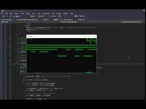 DaChip8 - DanTup's C# Chip-8 Interpreter