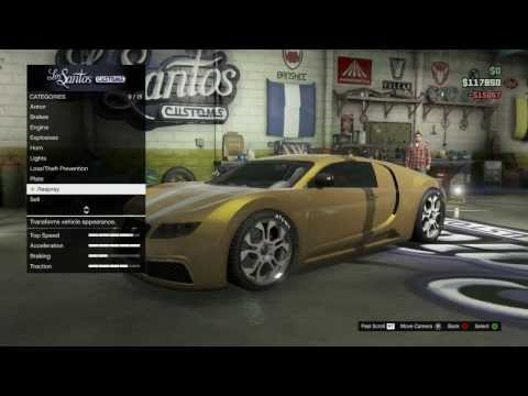 How To Get Gold Paint (Car)