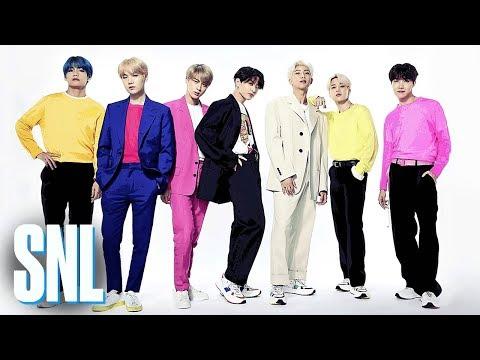 BTS: Boy with Luv (Live) - SNL - PakVim net HD Vdieos Portal