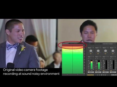 How to record crystal clear audio at noisy environment? - Rich In Beauty Studio
