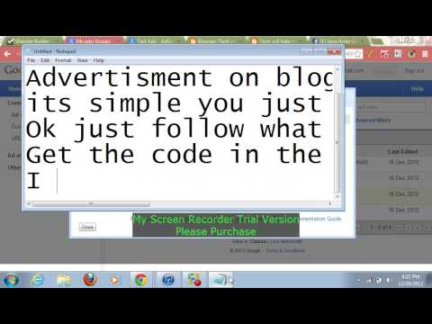 How to put ads on your website or blog [2013]