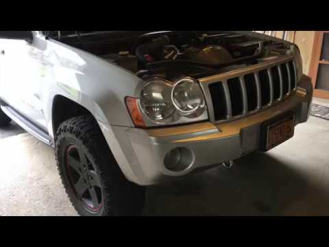 2006 Jeep Grand Cherokee (WK) Front and Rear Differential Fluid Change