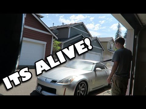 MY 350Z GETS REVIVED! // Update